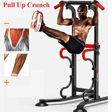 Load image into Gallery viewer, Power Tower Pull Push Chin Up Bar
