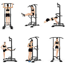 Load image into Gallery viewer, Power Tower Pull Up Bar-441LBS Weight Capacity