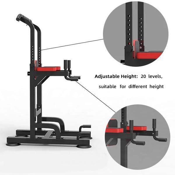 Power Tower Pull Up Bar Dig Station-1100LBS Weight Capacity
