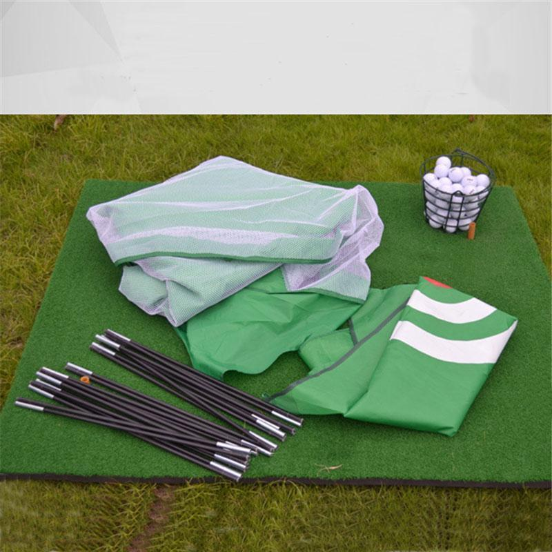Training Aids Practice Golf Nets | Indoor&Outdoor | Driving Range Chipping | Massfits-Black/10Ft