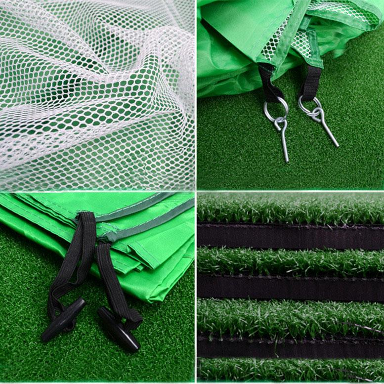 Training Aids Practice Golf Nets | Indoor&Outdoor | Driving Range Chipping | Massfits-Green/10Ft