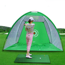 Load image into Gallery viewer, Training Aids Practice Golf Nets | Indoor&Outdoor | Driving Range Chipping | Massfits-Green/10Ft