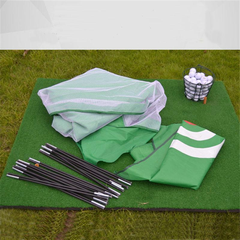 Training Aids Practice Golf Nets | Indoor&Outdoor | Driving Range Chipping | Massfits-Green/7Ft