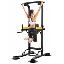 Load image into Gallery viewer, Power Tower Pull Up Bar | Adjustable Height | Massfits