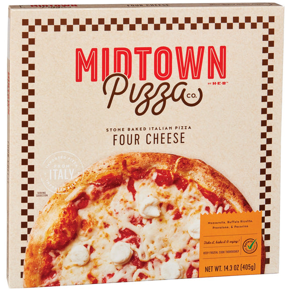 Midtown Pizza - Four Cheese