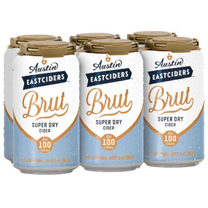 Austin Eastciders Brut Super Dry Cider 6pk cans