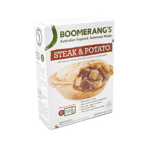 Boomerang Pie - Steak & Potato