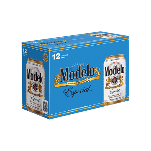 Modelo Especial - 12pack cans