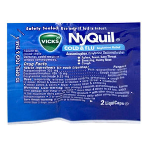 NyQuil Cold & Flu Liquicaps  (2 pack)