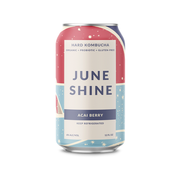 Açaí Berry - June Shine Hard Kombucha