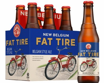 New Belgium Fat Tire 6pack bottles