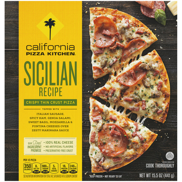 Sicilian Pizza - California Pizza Kitchen
