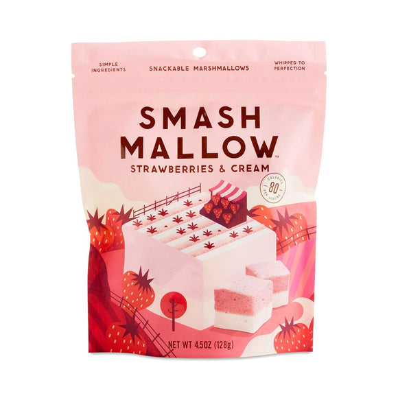 SmashMallow Strawberries & Cream Marshmallows