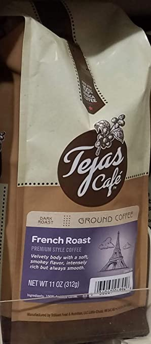 Tejas French Roast Ground Coffee