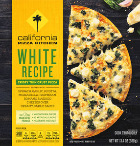 California Pizza Kitchen - White (Spinach)