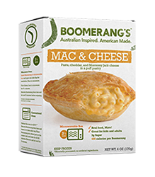 Boomerang Pie - Mac & Cheese