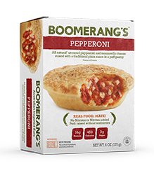 Boomerang Pie - Pepperoni