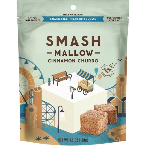 SmashMallow Cinnamon Churro Marshmallows