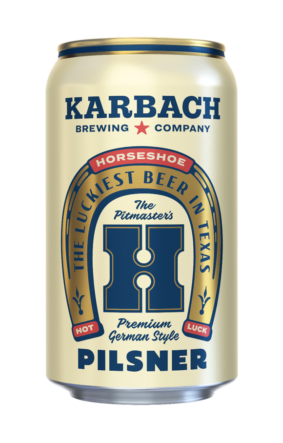 Karbach Horseshoe Pilsner 6pk cans