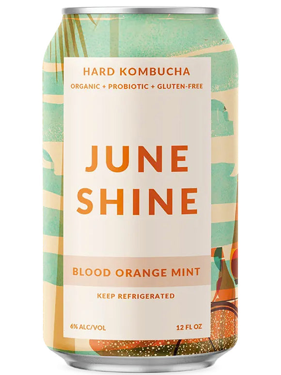 Blood Orange Mint - June Shine Hard Kombucha