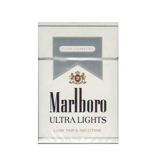 Marlboro Ultra Lights SILVER Cigarettes