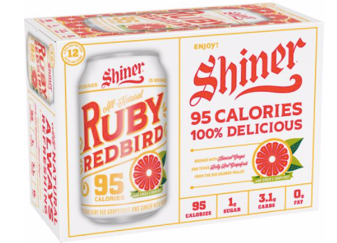 Shiner Ruby Red 12pack cans