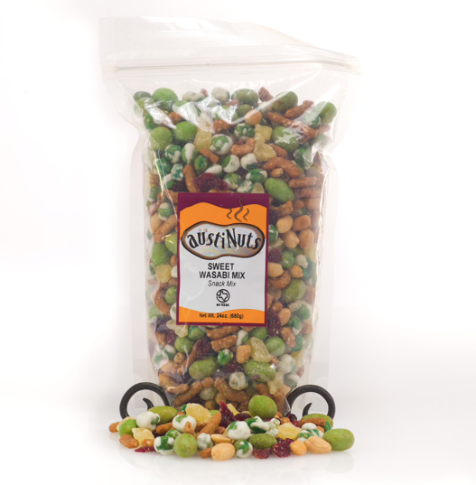 austiNuts - Sweet Wasabi Snack Mix