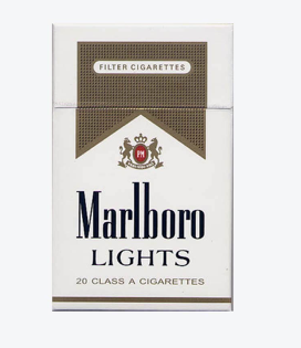 Marlboro Lights Gold Cigarettes Shorts