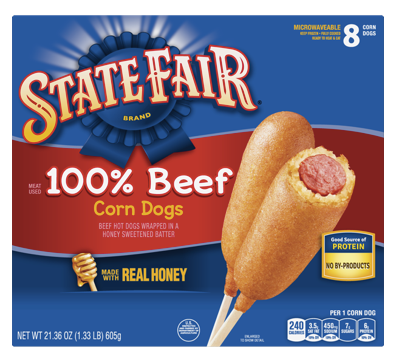 State Fair 100% Beef Corn Dogs (8 Count)