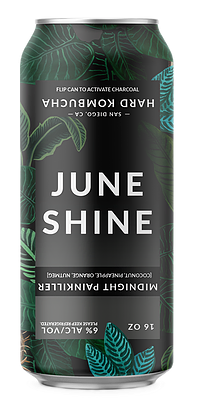 Midnight Painkiller - June Shine Hard Kombucha