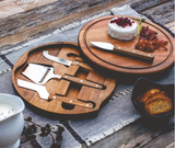 Acacia Circo Cheese Cutting Board & Tools Set