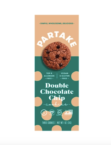 Double Chocolate Chip Cookies - Partake