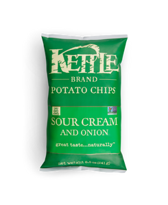 Kettle Chips - Sour Cream & Onion