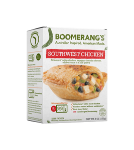 Boomerang Pie - Southwest Chicken