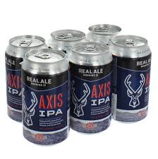 Real Ale Axis IPA 6pack cans