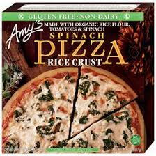 Amy's Spinach Pizza