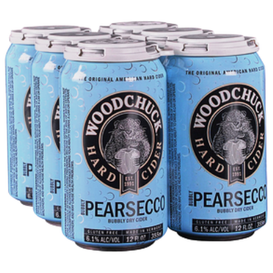 Woodchuck Pearsecco 6pk cans