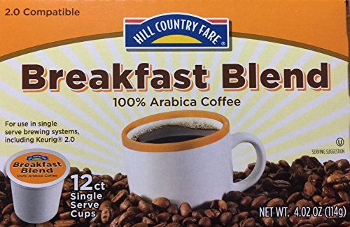 HEB Breakfast Blend K Cups