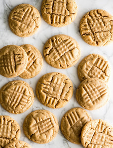 Homemade Peanut Butter Cookies (1/2 Dozen)
