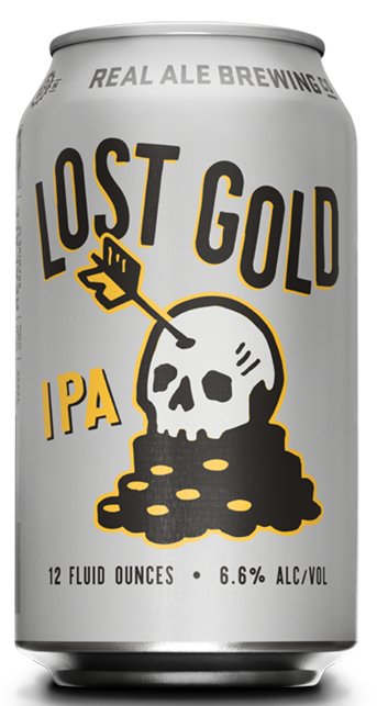 Real Ale Lost Gold IPA 6pk cans