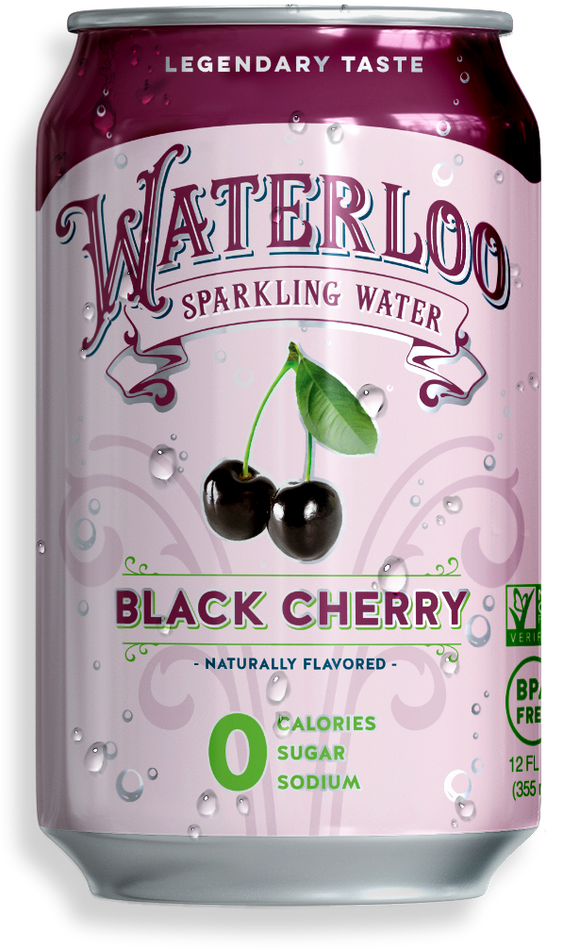 Waterloo Sparkling Water - Black Cherry