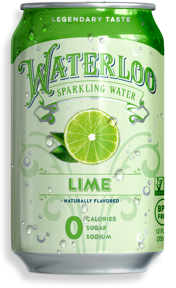 Waterloo Sparkling Water - Lime