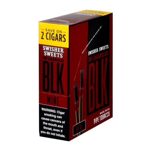 Swisher Sweets BLK Wine Cigarillos (2-pack)