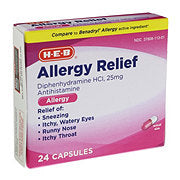 HEB Allergy Relief Tablets