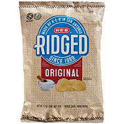 HEB Ridged Ruffles - Potato Chips
