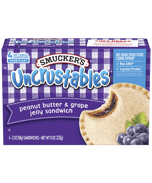 UNCRUSTABLES® Peanut Butter & Grape Jelly