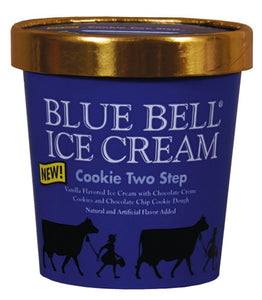 Blue Bell Cookie Two Step