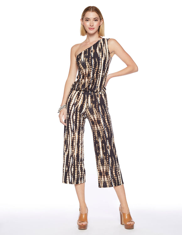 Viereck One Shoulder Jumpsuit