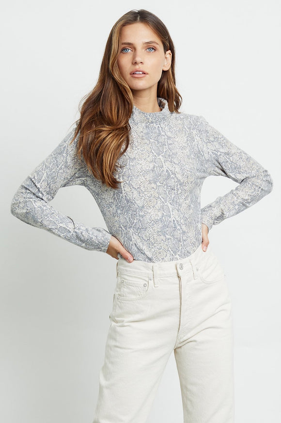 Rails Ray Snakeskin Top