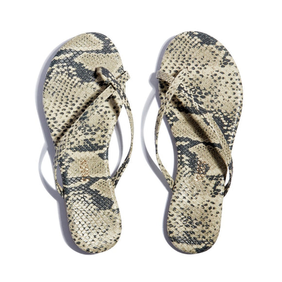 TKEES Riley Sand Snake Sandals